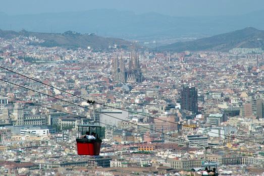 Ilustración 1. Sistema de transporte en Barcelona